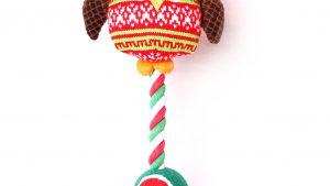 Hibou corde noeuds balle chien jouet
