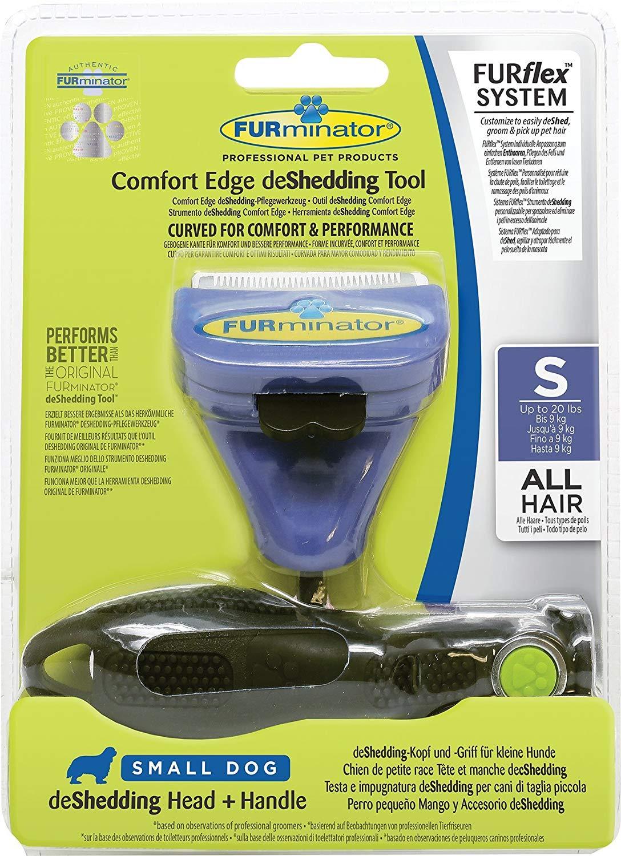 Brosse Furminator Furflex System Comfort Edge Deshedding Tool Manche Tête